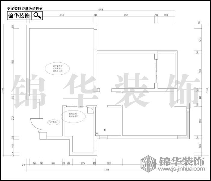 尚品馨苑80平米户型解析-装修设计方案-南京锦华装饰