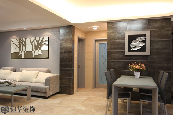 钱江方洲装修-三室两厅-现代简约