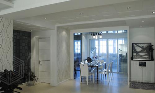 天山花苑装修-三室两厅-现代简约