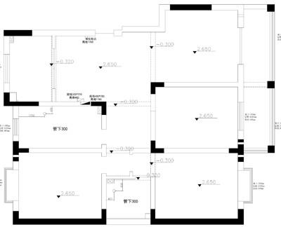 外滩北苑装修-三室两厅-现代简约