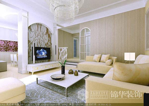 山水华美装修-三室两厅-现代简约