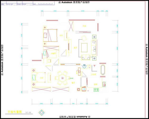 融桥中央装修-三室两厅-简欧