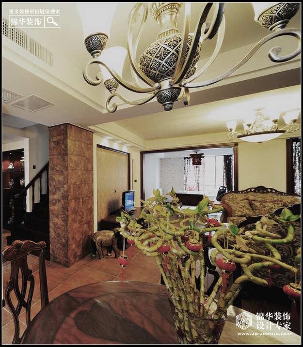 山水风华装修-别墅-欧式古典
