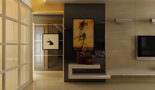 淮安万达广场简约样板房装修 三室两厅装修效果图 现代简约风格 淮安