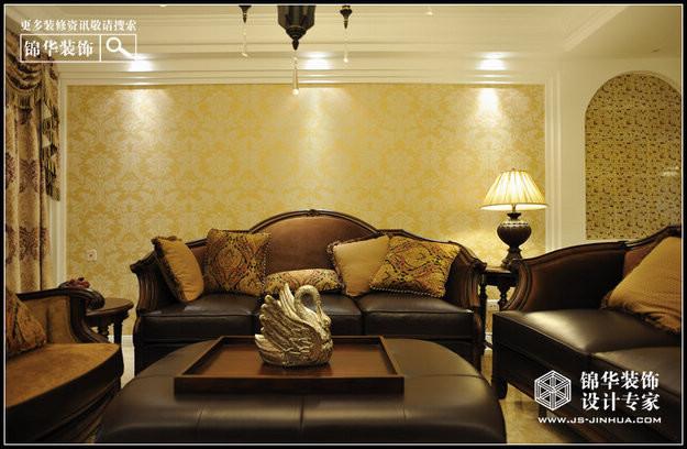 雅居乐装修-三室两厅装修效果图-现代简约风格