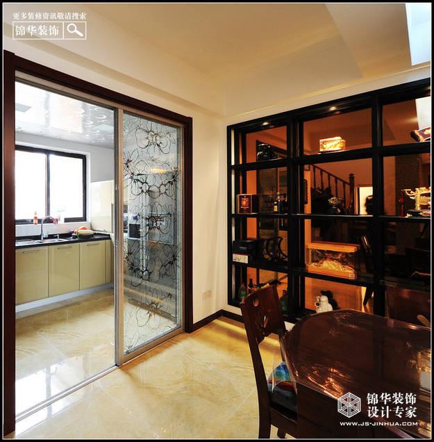 依云溪谷装修 三室两厅装修效果图 现代简约风格