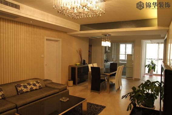 紫金花园(新)装修-三室两厅-现代简约