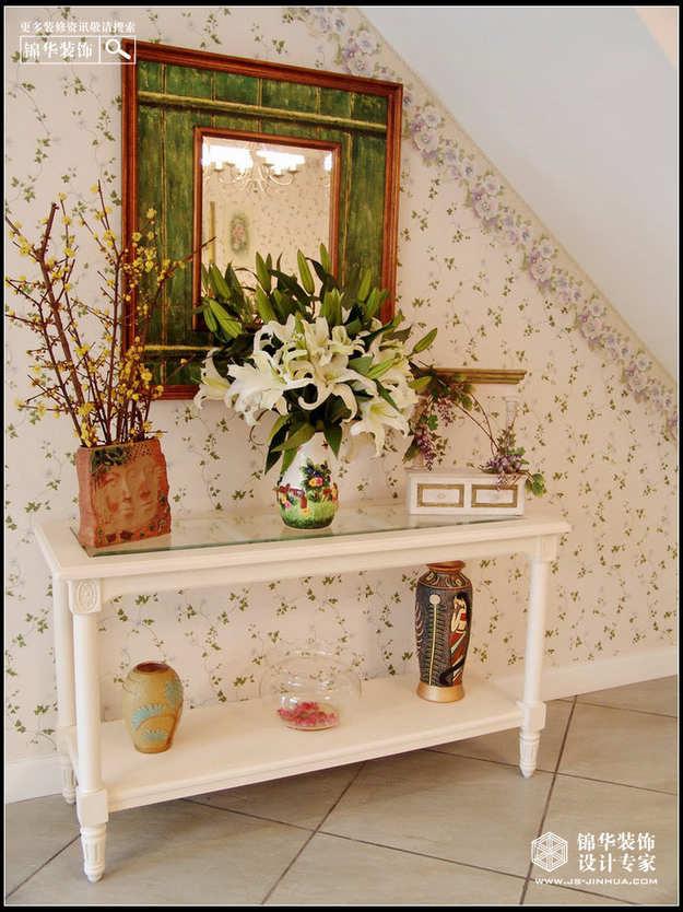 名仕豪庭装修-三室两厅-美式田园