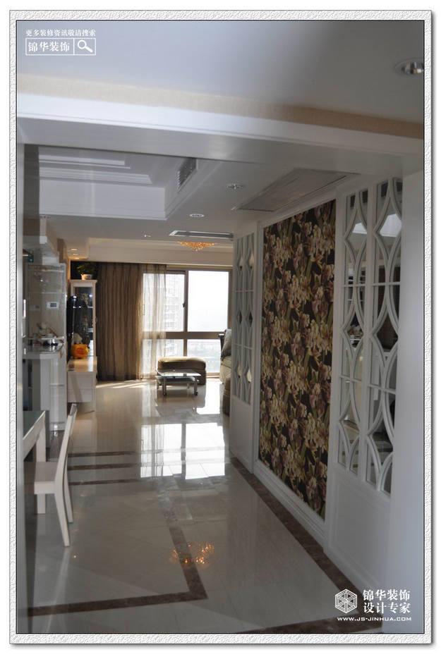 星雨华府装修-三室两厅装修效果图-简欧风格