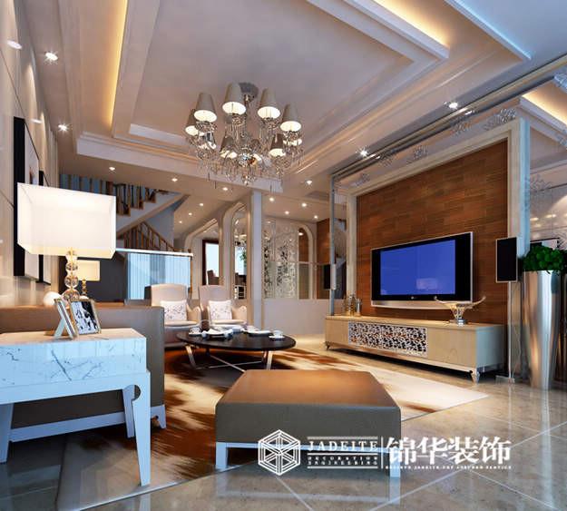 吉祥国际简约风格大户型样板房 装修-大户型-现代简约