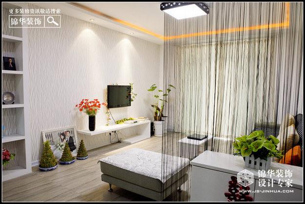 文鼎雅苑--生如繁花装修-三室一厅-现代简约