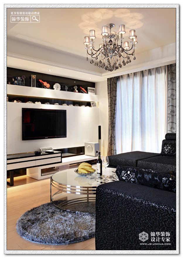 天水滨江装修 三室两厅装修效果图 现代简约风格
