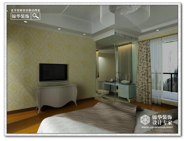 秀水山庄(清新欧式)装修-别墅-混搭