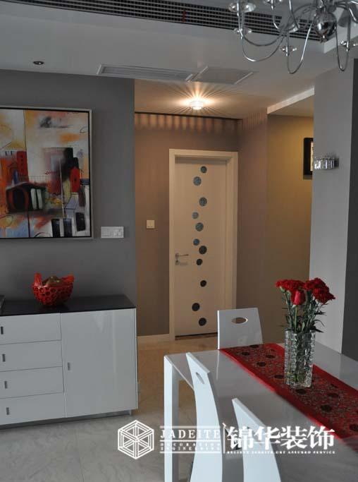 尚锦城三室两厅简约风格实景样板间装修 三室两厅装修效果图 现代简