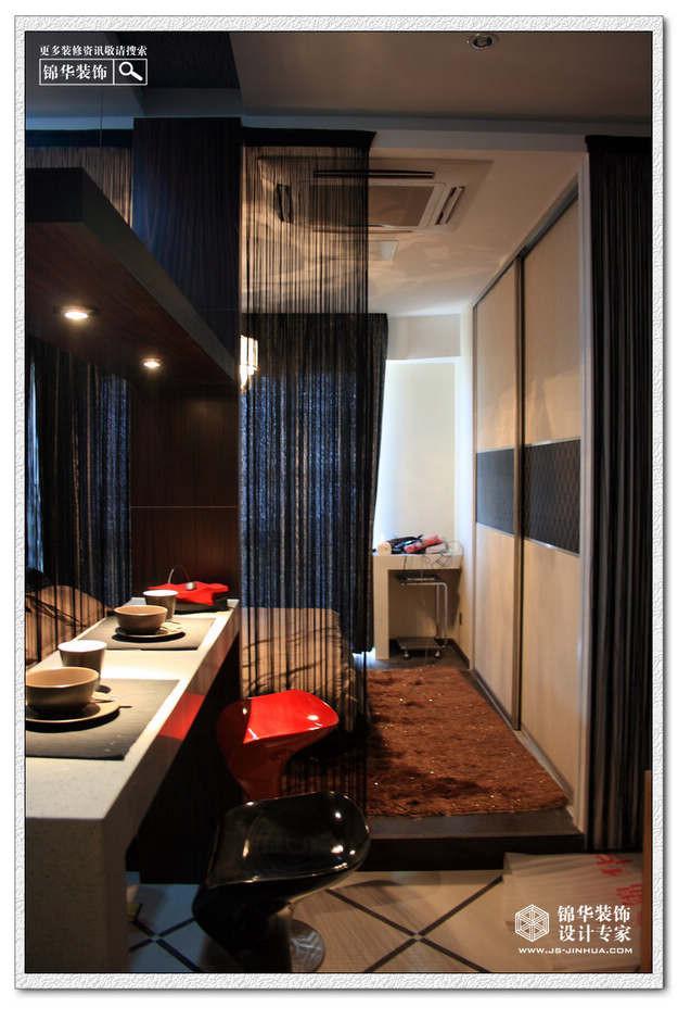 明发滨江酒店式公寓装修 小户型装修效果图 现代简约