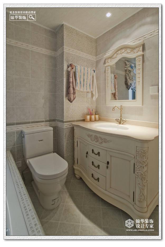 金域中央-低调的奢华装修-三室两厅-简欧