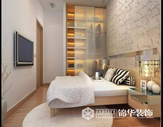 江阴水岸新都138平简约风格效果图装修-大户型-现代简约
