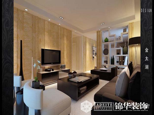 无锡金太湖三室两厅简约效果图 装修-三室两厅-现代简约