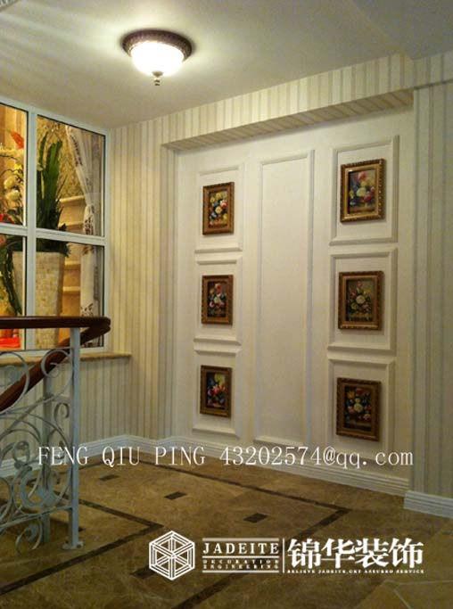 银河湾装修-三室两厅装修效果图-欧式古典风格