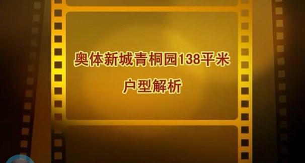 奥体新城青桐园138平米视频户型解析