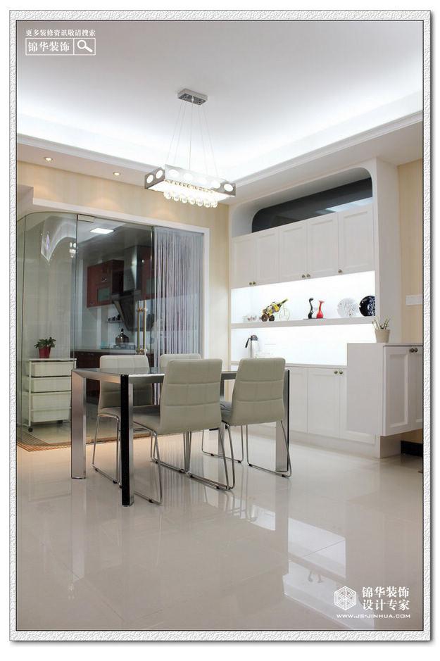 清新家园-高尔夫国际花园装修-三室两厅-现代简约