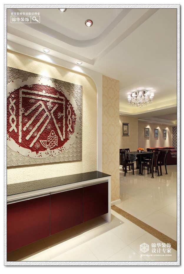 玄关装修效果图-装修图片-南京锦华装饰设计公司