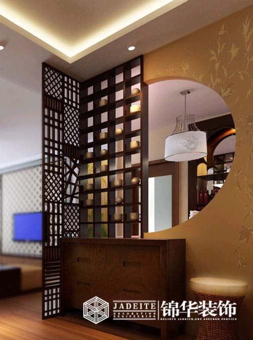 山语银城三室两厅简约风格三室二厅二卫装修案例效果图