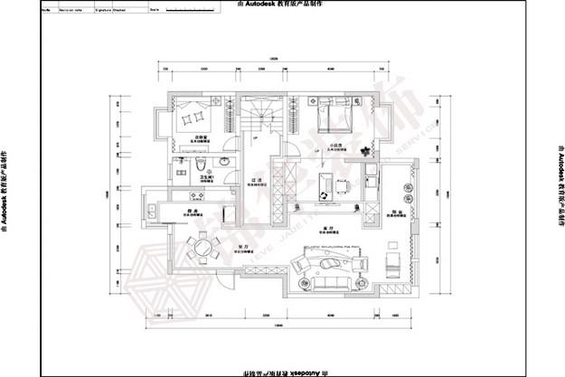 文化名城(新)装修-三室两厅-现代简约