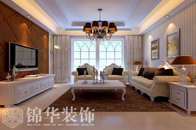 奥景华府(新)装修-三室两厅-现代简约