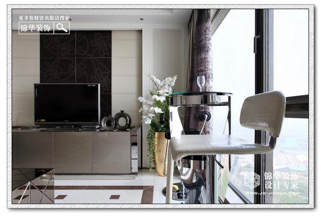 星雨华府--喧闹中的宁静装修-三室两厅-现代简约