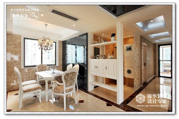棋格主张-融侨中央花园装修-三室两厅装修效果图-新古典风格
