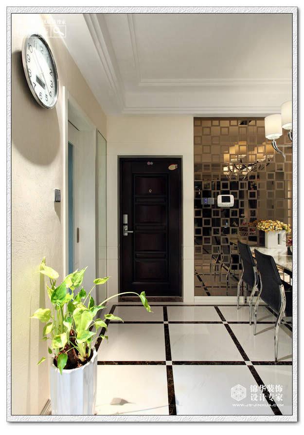 中性物语-万达西地装修-两室两厅装修效果图-现代简约风格