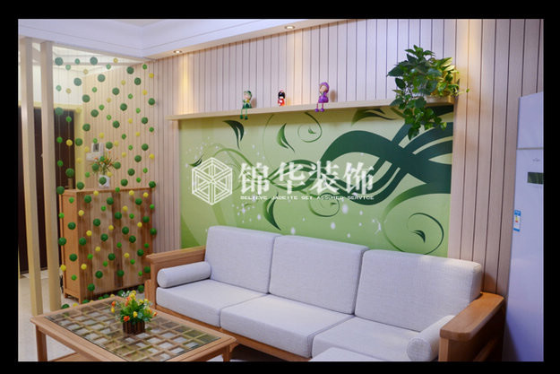 钱江方洲(新)装修-三室两厅-美式田园