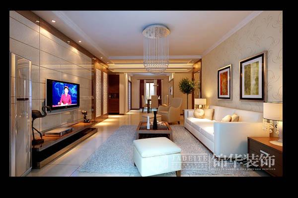 宋都美域装修-三室两厅-现代简约