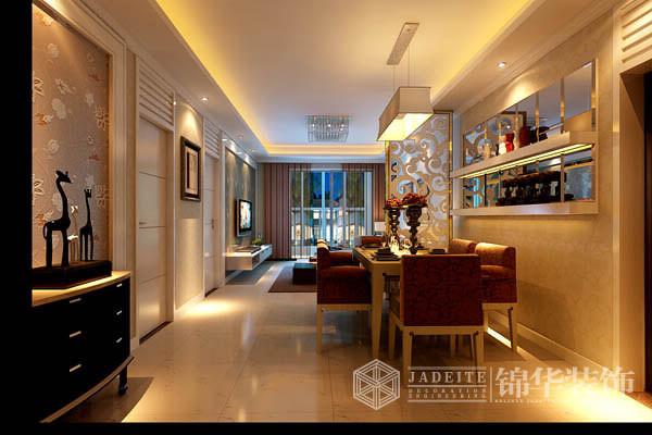 万达广场装修-三室两厅-现代简约