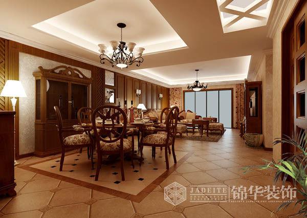 雅居乐花园1装修-三室两厅-欧式古典