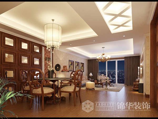 雅居乐花园2装修-三室两厅-欧式古典