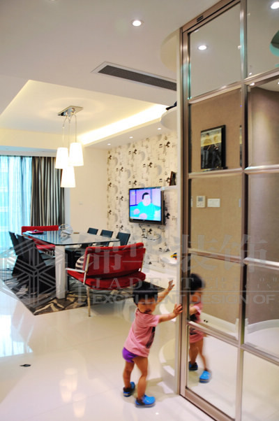 绿城玉兰公寓装修-两室两厅-现代简约