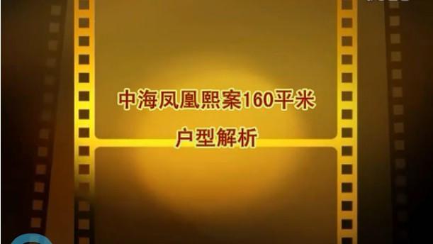 中海凤凰熙岸C5户型160平米视频户型解析(一)