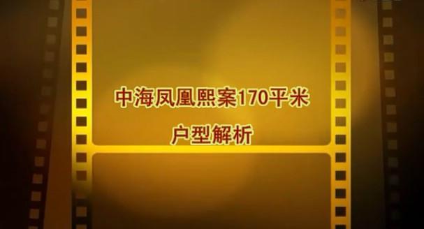 中海凤凰熙岸C1户型170平米视频户型解析(四)