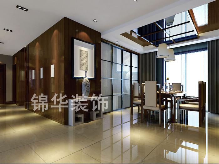 玄关装修效果图-装修图片-扬州锦华装饰