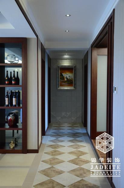 钱江方洲--共谱你我的居家生活乐章装修-三室两厅-新中式