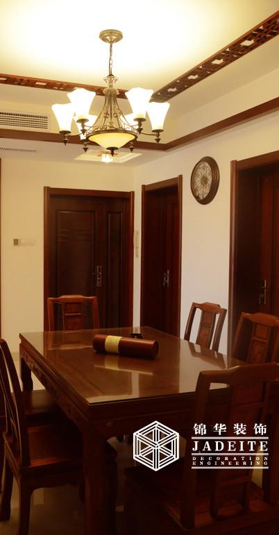 十足的中国味儿装修-三室两厅-新中式