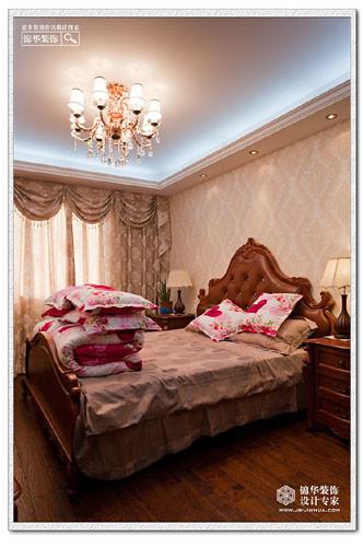 欧式柔美-金王府装修-两室两厅-简欧