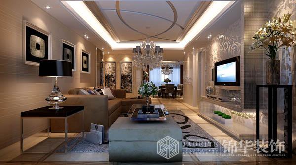 绿地六期装修-三室两厅-现代简约