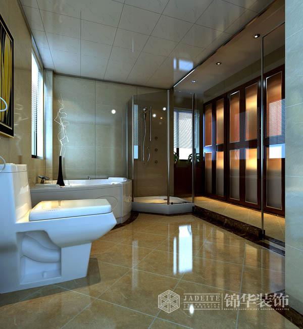 中式风格效果图赏析装修-三室两厅-新中式
