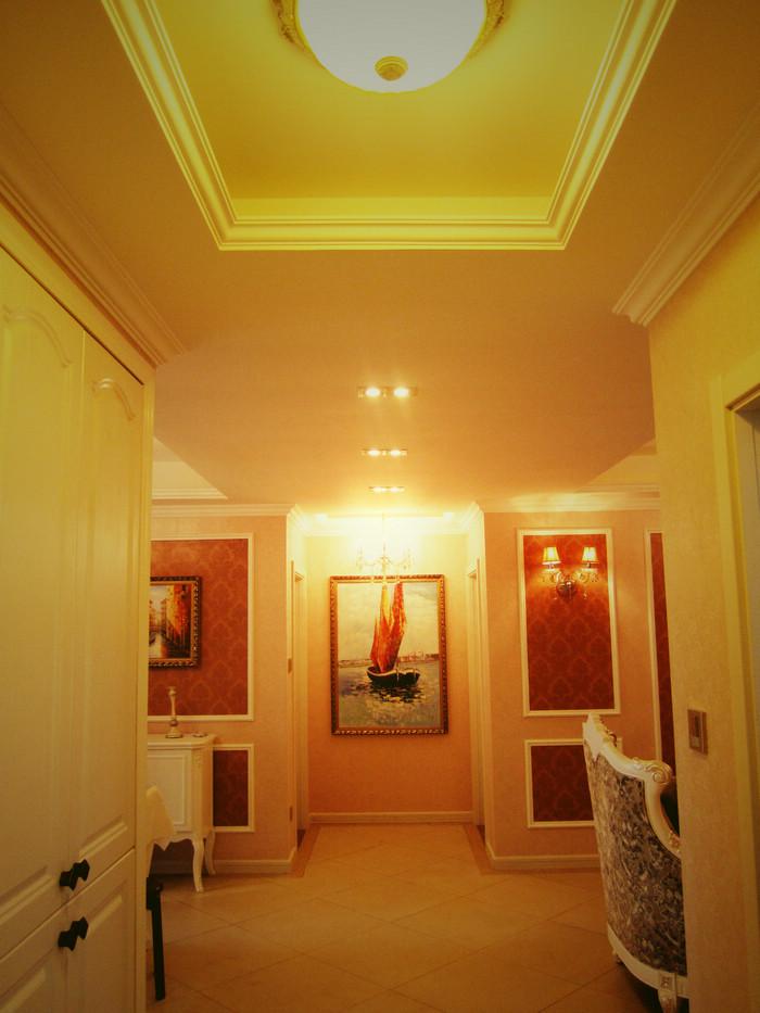 现代欧式装修 三室两厅 简欧 湖州锦华装饰