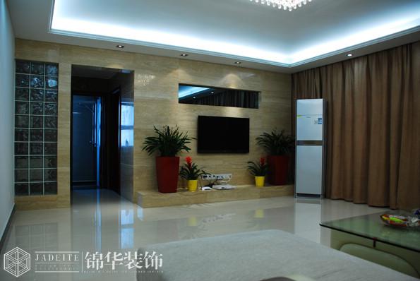 天鹅湖157平现代简约效果图 装修-三室两厅-现代简约