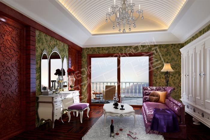 威尼斯花园900平欧式风格别墅效果图装修 别墅图片大全 欧