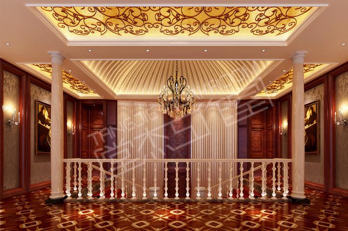 威尼斯花园900平欧式风格别墅效果图装修-别墅图片大